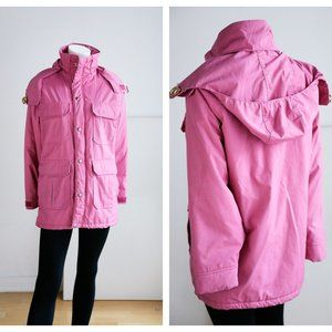 Vintage Woolrich Dusty Pink Rose Nylon Jacket